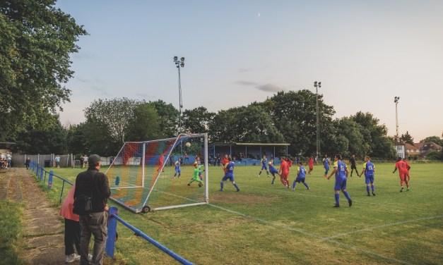 'Don't let it bounce': Raynes Park Vale's non-league journey