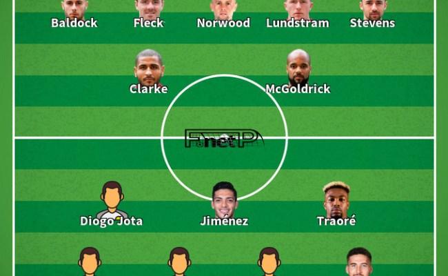 ᐉ Predicciones Para Wolves Vs Sheffield United 1 Dic