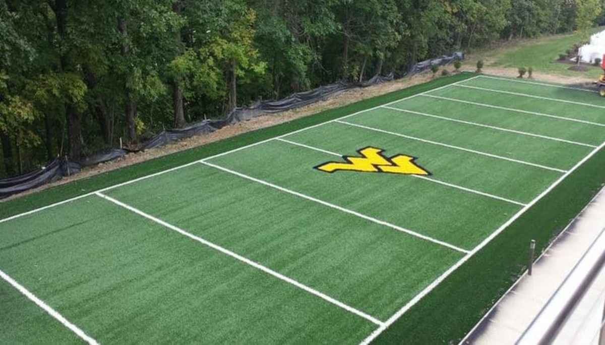 West Virginia is adding 50 yards of turf fieldbut its