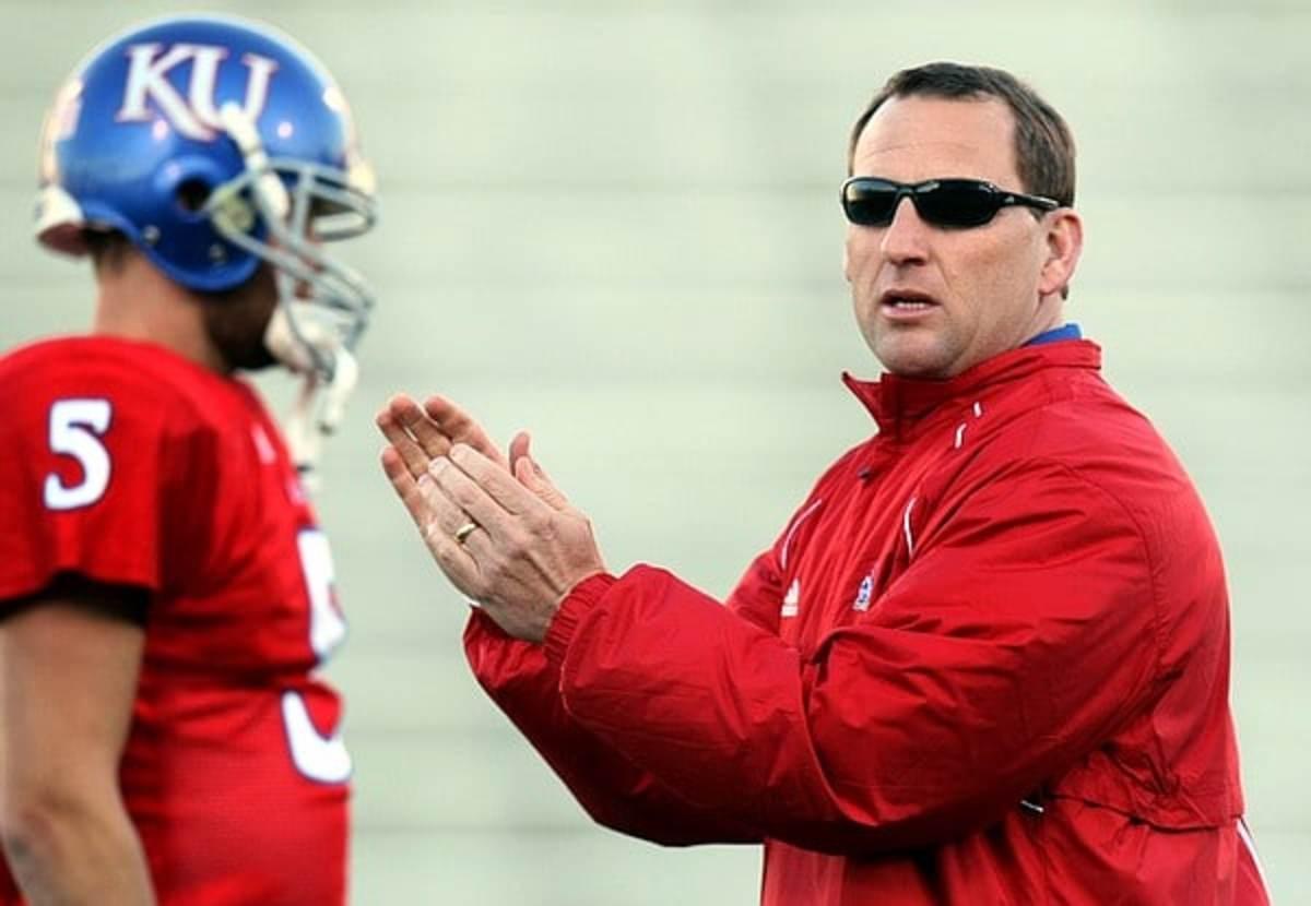 Kansas AD Jeff Long announces firing of football coach