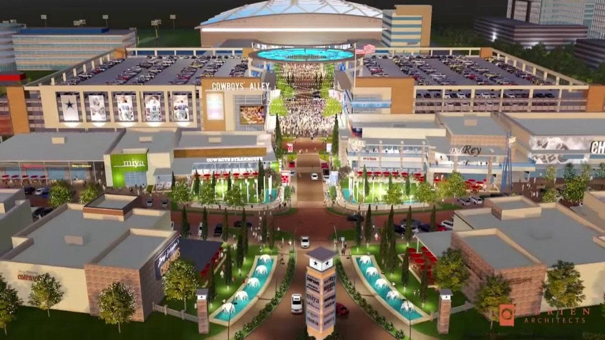 check out 0a6e3 ac17a 2018 release be202 3df30 The Dallas Cowboys new mega-complex is either ...