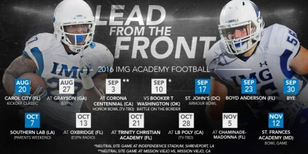 IMG schedule