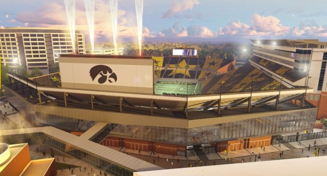 Take A Peek At What Iowa Has Planned For Kinnick Stadium