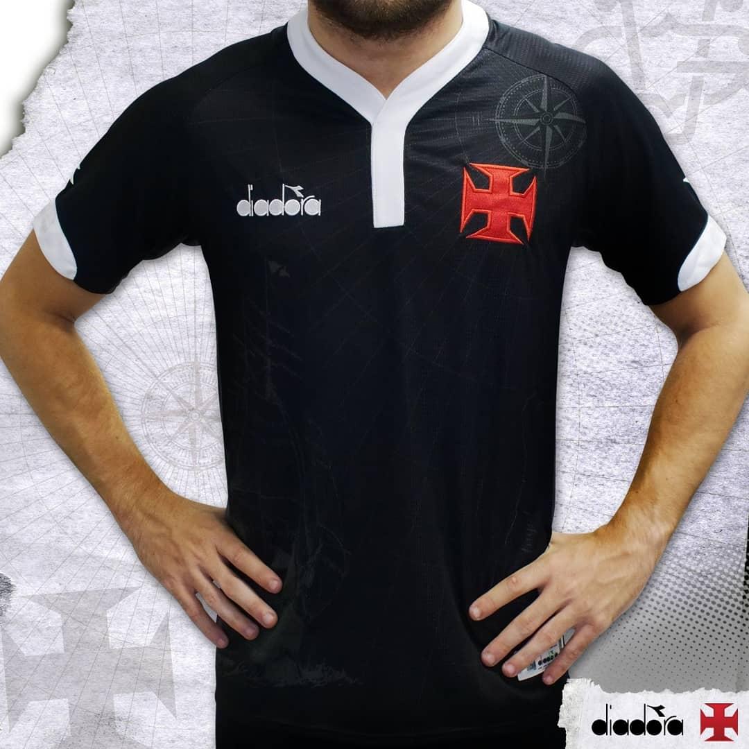6ff9ca75b Vasco Da Gama 2018 Diadora Third Kit 18 19 Kits Football Shirt