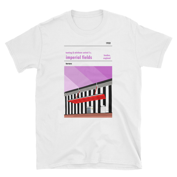 White Tooting and Mitcham United FC and Imperial Fields T-Shirt