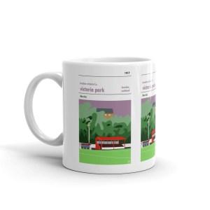 Coffee mug of Brechin Vics FC and Victoria Park