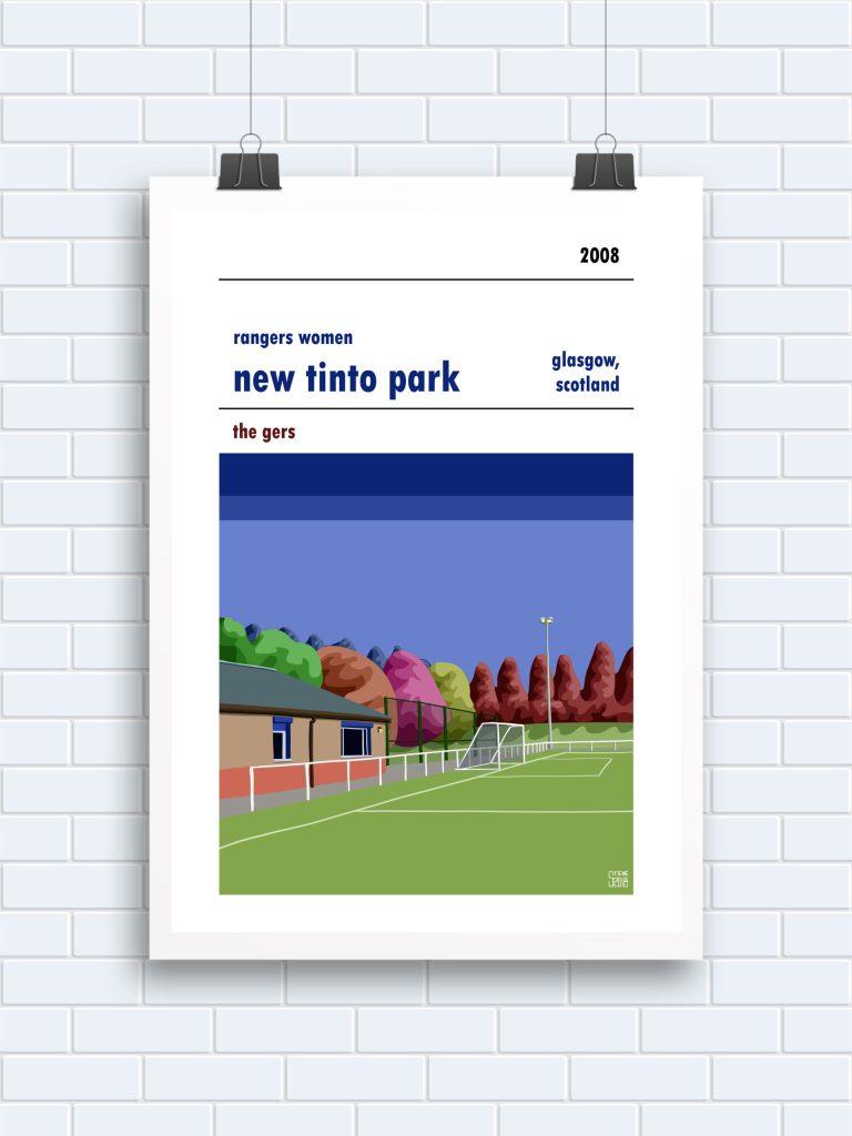New Tinto Park Rangers Women prints