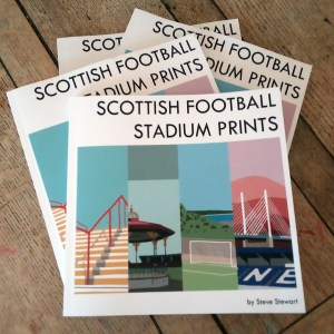 Scottish Football Stadium Prints Book 2019/20