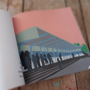 Links park graces the pages of Scottish Football Stadium Prints