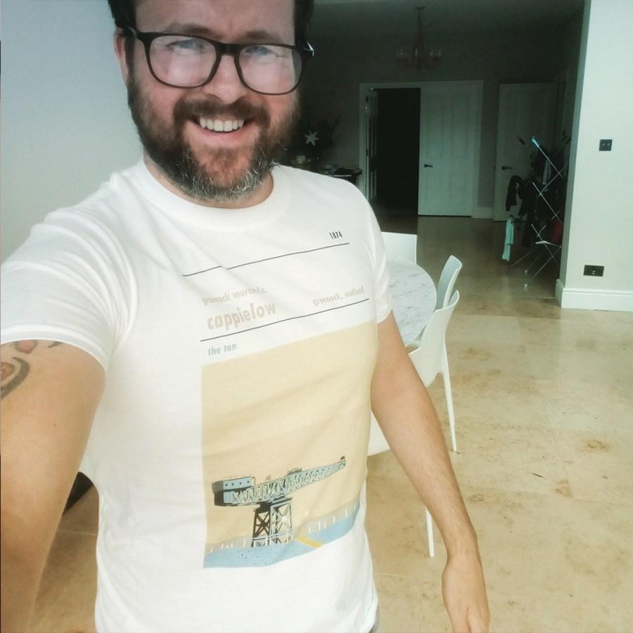 Cappielow t-shirt - Greenock Morton FC