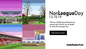 Non League Day on Football Stadium Prints