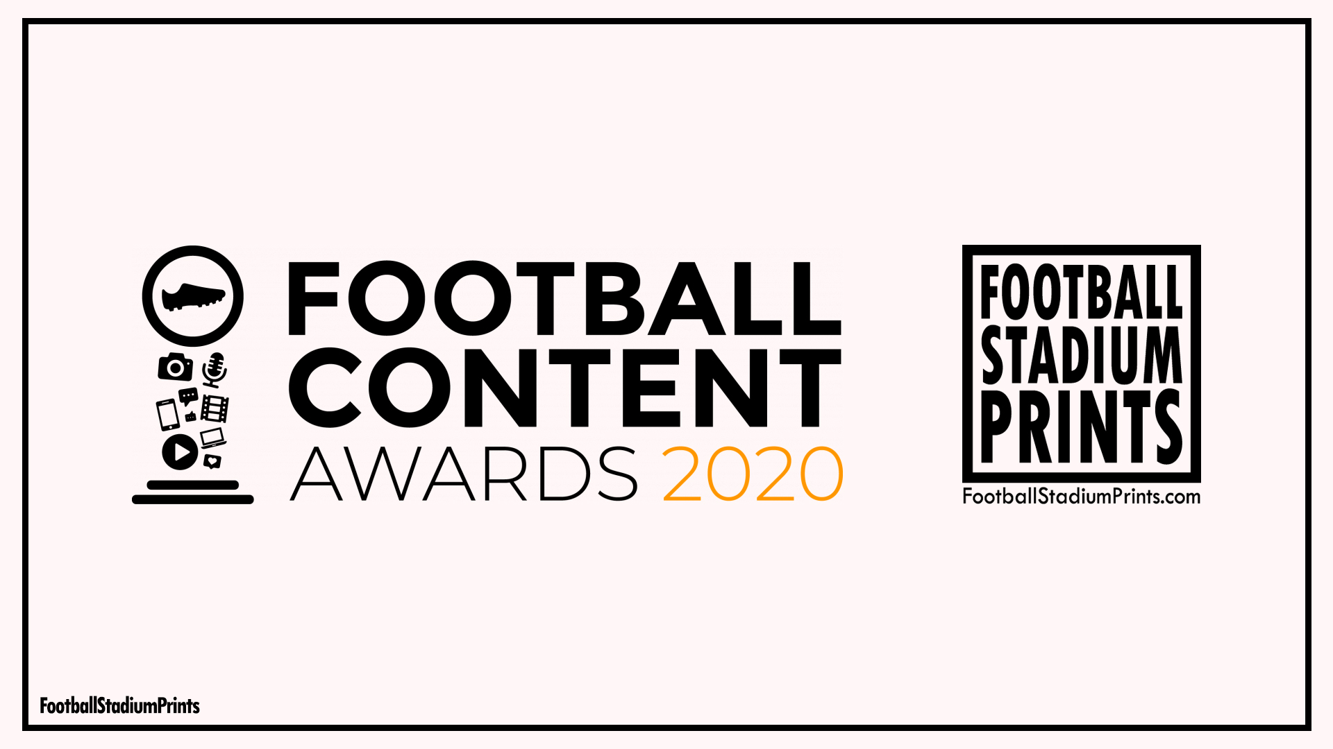 Football Content Awards 2020