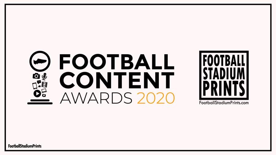 Football Content Award 2020 Football Stadium Prints