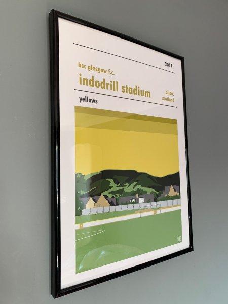 Football Print of BSC Glasgow
