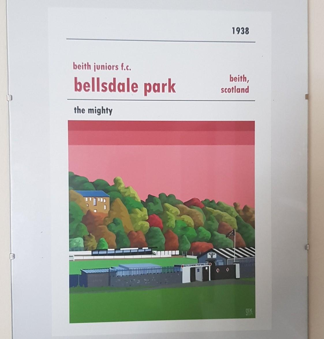 Beith Juniors Football Print