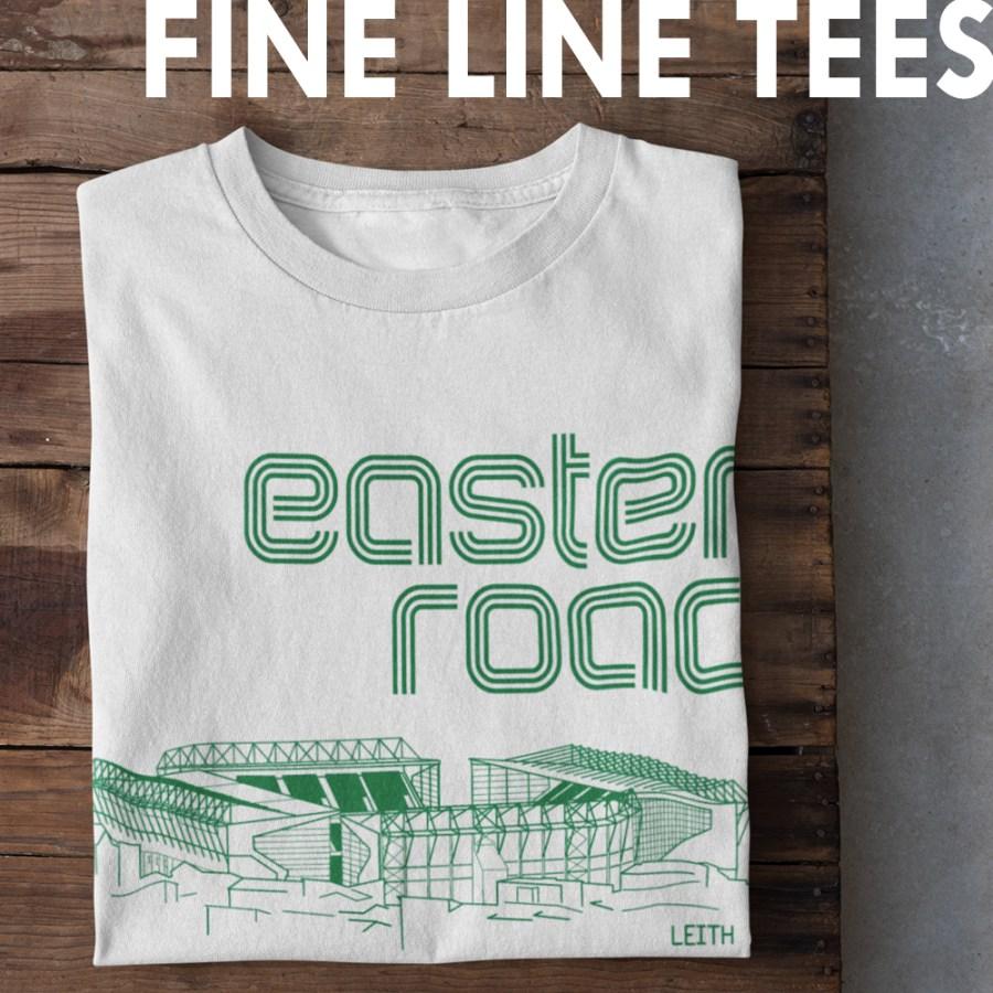 Fine Line T-shirts from Football Stadium Prints