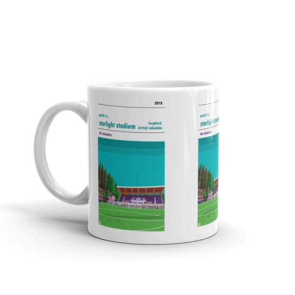 Pacific FC and Starlight Stadium coffee mug