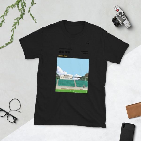 Black Birmingham Legion and BBVA Field t-shirt