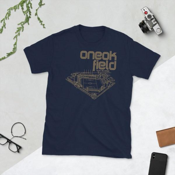 ONEOK Field and FC Tulsa t-shirt