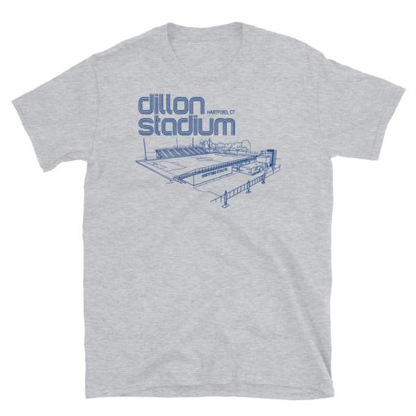 Dillon Stadium and Hartford Athletic t-shirt