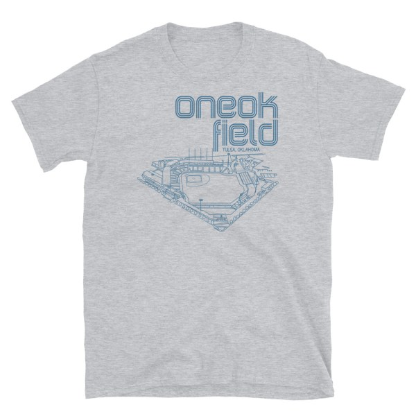 ONEOK Field and Tulsa Drillers t-shirt