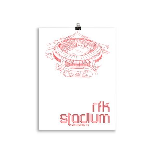 RFK Stadium and DC United Print