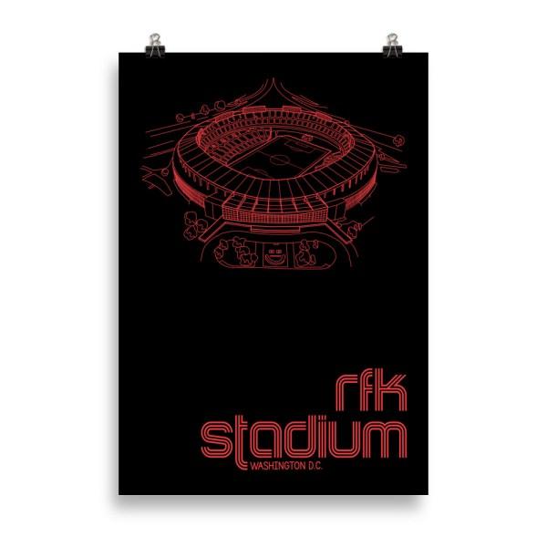 Massive RFK Stadium and DC United Print