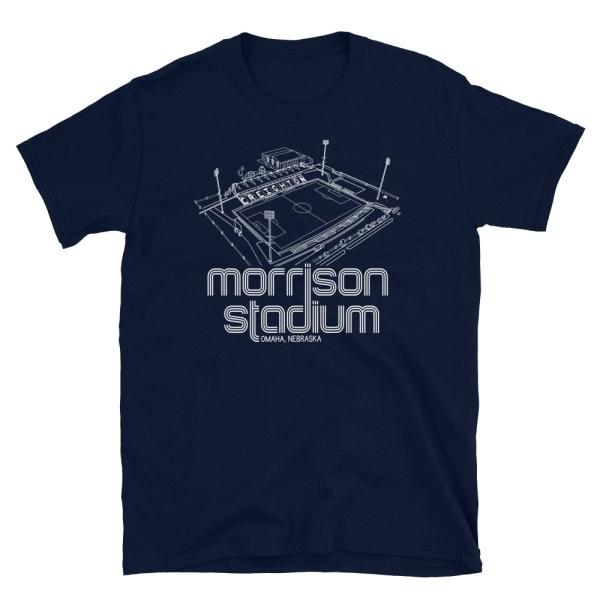 Morrison Stadium home to Creighton BlueJays Soccer Team T-Shirt