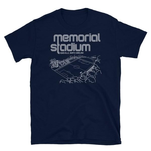 Memorial Stadium and Asheville City SC T-Shirt
