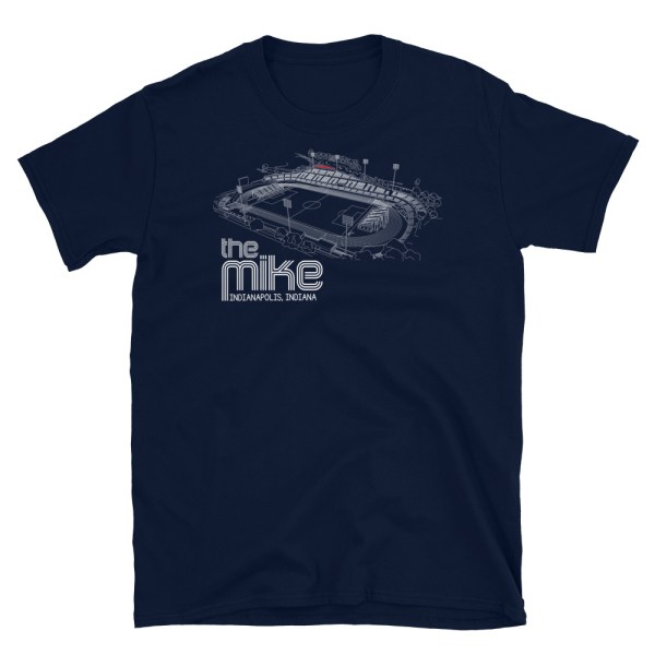 Navy Indy Eleven shirt of the Mike