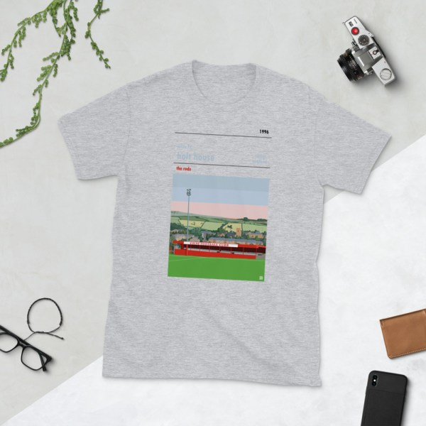 Grey Colne FC and Holt House T-Shirt