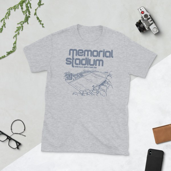 Gray Memorial Stadium and Asheville City SC T-Shirt