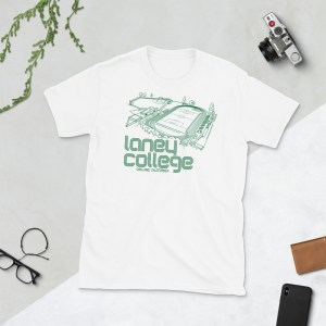White Laney Community College Oakland Roots T-Shirt