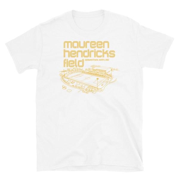 Maureen Hendricks Field and Maryland Bobcats T-Shirt