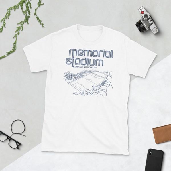 White Memorial Stadium and Asheville City SC T-Shirt