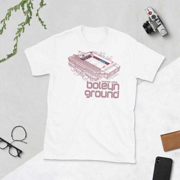 White West Ham United and Boleyn Ground T-Shirt