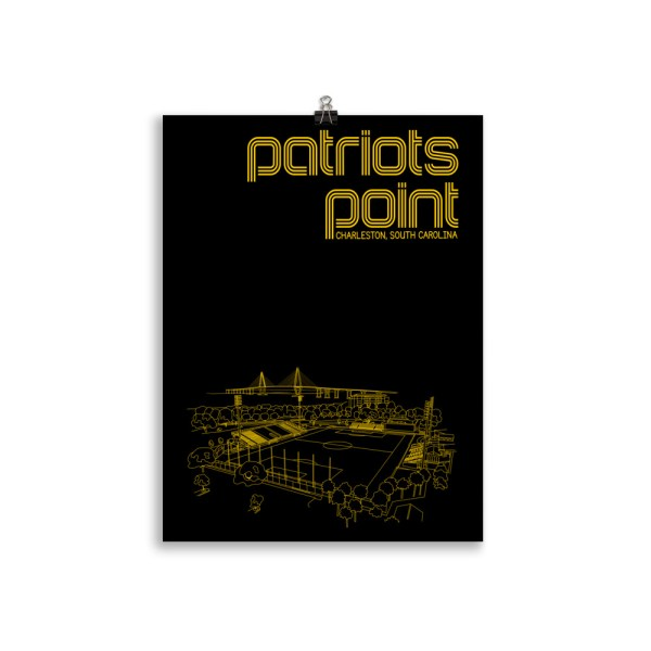 Charleston Battery and Patriots Point soccer print