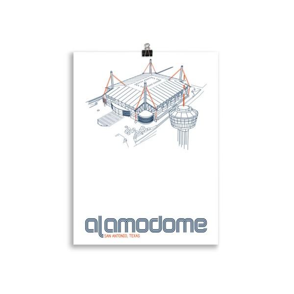Alamodome and UTSA Roadrunners print