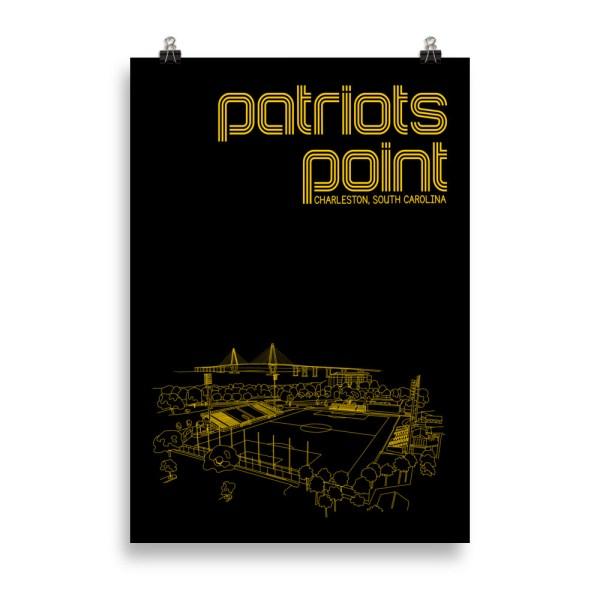 Massive Charleston Battery and Patriots Point soccer print
