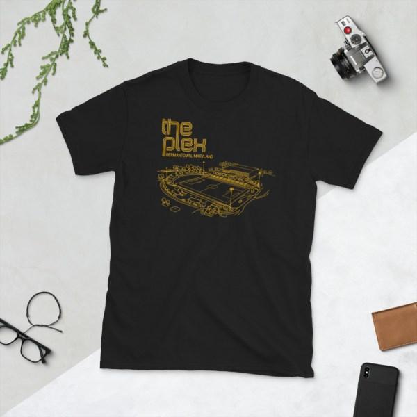 Black Maryland Bobcats and The Plex T-Shirt