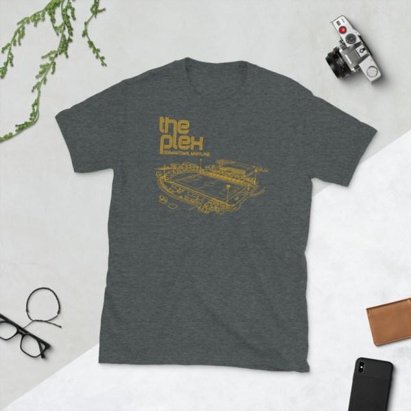 Dark gray Maryland Bobcats and The Plex T-Shirt