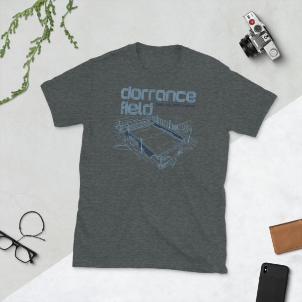 Dark gray Dorrance Field and Tar Heels T-Shirt