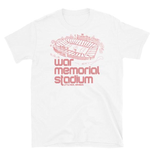 War Memorial and Little Rock Rangers t-shirt