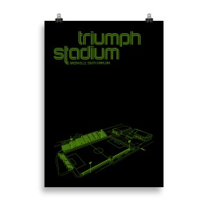 Large Greenville Triumph Soccer Poster