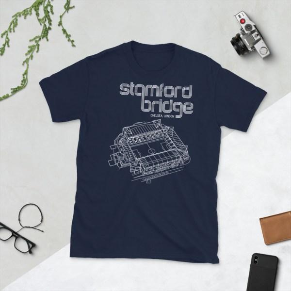 Blue Stamford Bridge and Chelsea T-Shirt