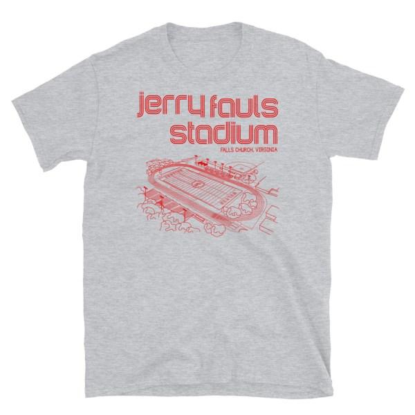 Jerry Fauls Stadium Football T-Shirt