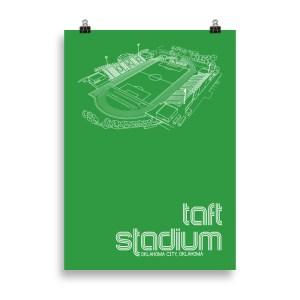 Taft Stadium and OKC Energy FC Soccer Print