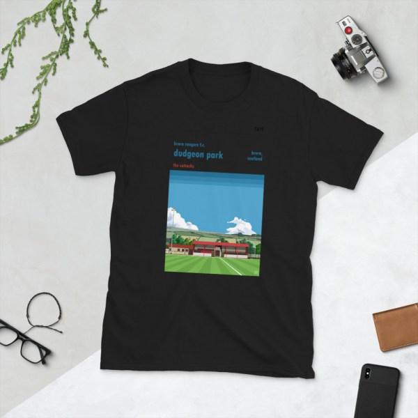 Black Dudgeon Park and Brora Rangers T-Shirt