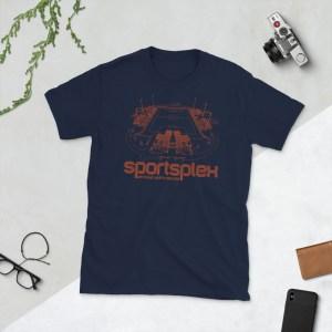 Navy Charlotte Eagles and Sportsplex t-shirt