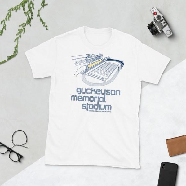 White B-CC Barons T-Shirt